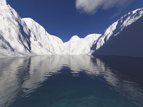 Фото Льды Антарктиды (© Volkodavsha), добавлено: 06.03.2011 18:18