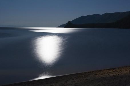 Фото Лунная ночь на Байкале