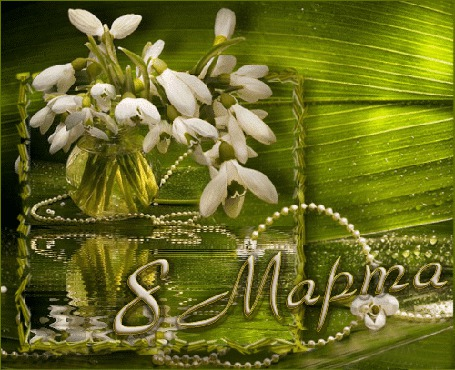 Фото Цветы в вазе к 8 Марта (© Volkodavsha), добавлено: 08.03.2011 02:43