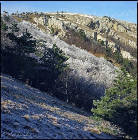Фото 'Белая лава' - Oleg Vanilar (© Юки-тян), добавлено: 10.03.2011 23:35
