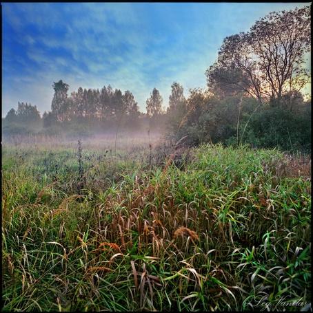 Фото 'Ложился на поля туман...' -Oleg Vanilar (© Юки-тян), добавлено: 11.03.2011 17:20
