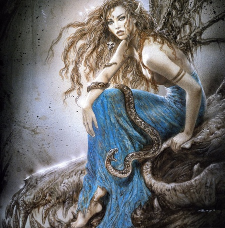 Фото Девушка со змеями (© Флориссия), добавлено: 11.03.2011 20:43