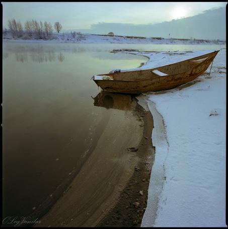 Фото 'Утро на Москва-реке' - Oleg Vanilar (© Юки-тян), добавлено: 11.03.2011 21:11