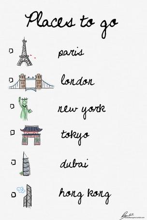 ���� Places to do - Paris,London,New York,Tokyo,Dubai,Hong Kong (� Electraa), ���������: 12.03.2011 12:06