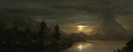 Фото Тёмный замок в мире сумрака