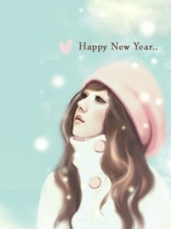 Фото Девушка в шапке (Happy New Year) (© Юки-тян), добавлено: 15.03.2011 16:58