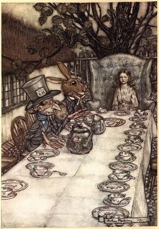 Фото Алиса в стране чудес на чаепитии