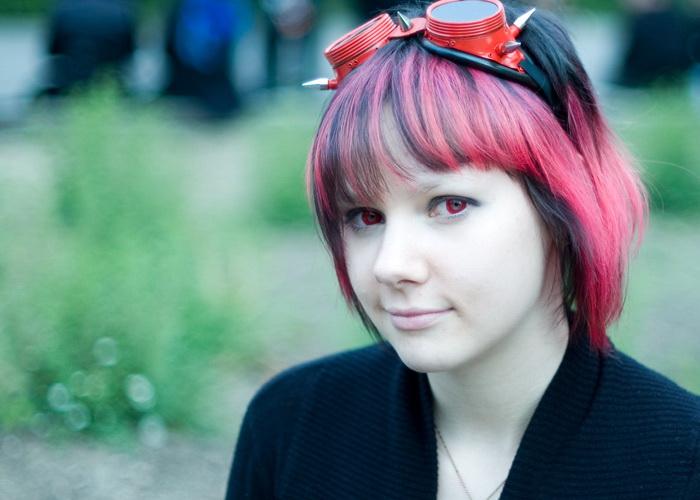 Картинка девушка готика 5