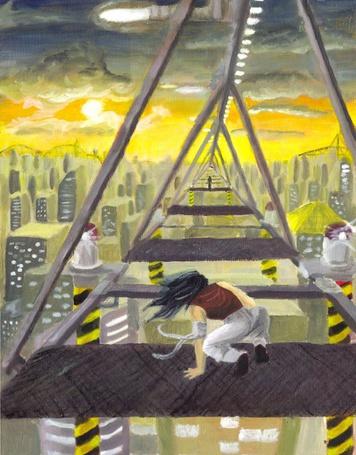 Фото Взгляд на город свысока (© Флориссия), добавлено: 02.04.2011 20:39