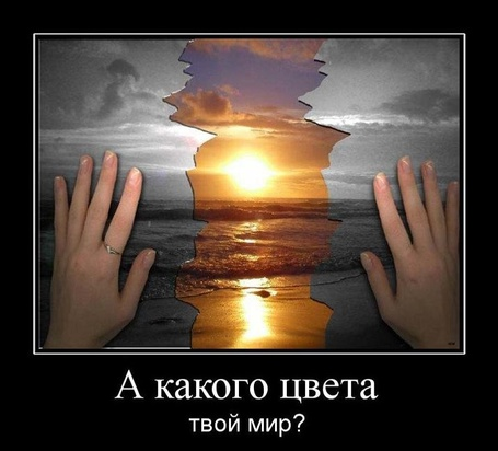 Фото А какого цвета твой мир?