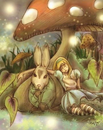 Фото Алиса в стране чудес (© Флориссия), добавлено: 05.04.2011 11:56