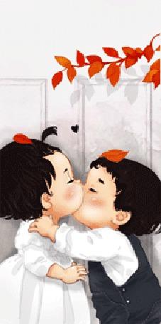 Фото Поцелуй