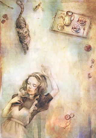 Фото Алиса в стране чудес (фан арт) (© Electraa), добавлено: 06.04.2011 18:30