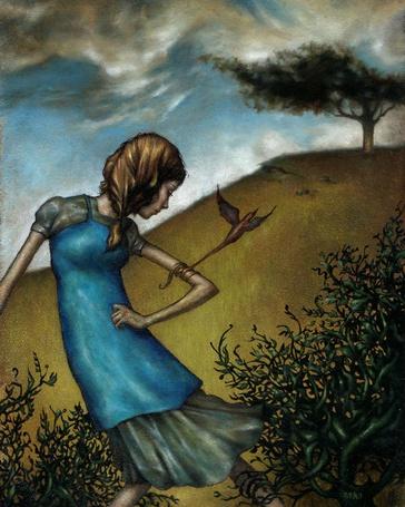 Фото Девочка на ветру (© Флориссия), добавлено: 13.04.2011 20:38