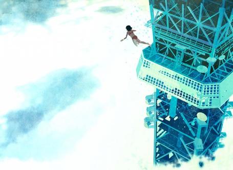 Фото Девушка прыгает с вышки (© Флориссия), добавлено: 27.04.2011 17:34