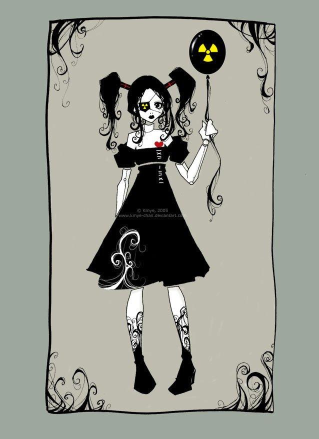 Открытка в готическом стиле, анимированные открытки