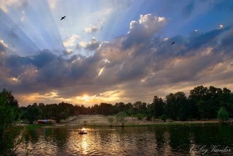 Фото 'Воскресный вечер, парк Кузьминки' - Oleg Vanilar (© Юки-тян), добавлено: 01.05.2011 09:37