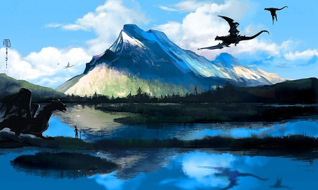 Фото Земля драконов (© Флориссия), добавлено: 02.05.2011 11:51