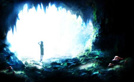 Фото Выход из пещеры (© Юки-тян), добавлено: 02.05.2011 13:38