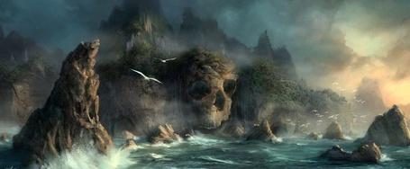 Фото Остров призрачного черепа