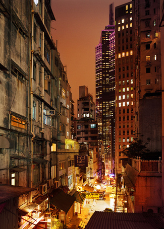 Фото Ночной Гонконг (© Niar), добавлено: 04.05.2011 11:55