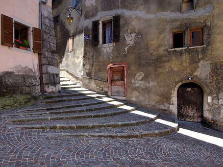 Фото Маленькая улочка Анси, Франция (© Niar), добавлено: 09.05.2011 14:04
