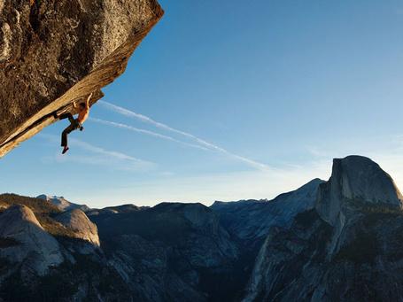 Фото Йосемитский национальный парк, США. Альпинист