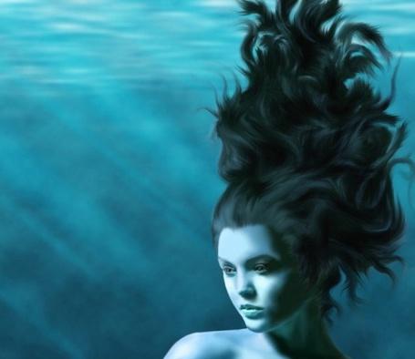 Фото Девушка под водой (© Флориссия), добавлено: 11.05.2011 17:29