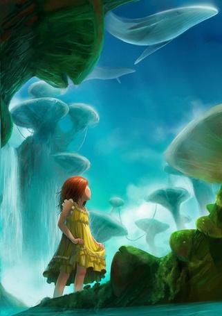 Фото Девочка попала в мир огромных грибов (© Флориссия), добавлено: 22.05.2011 15:26