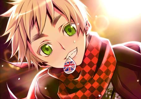 Фото Зеленоглазый мальчик с британским фланом (© Шепот_дождя), добавлено: 24.05.2011 20:32