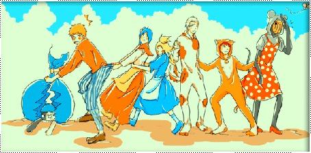 Фото Akatsuki из аниме Naruto в сказке 'Репка' (© D.Phantom), добавлено: 26.05.2011 04:43