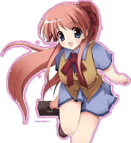 Фото Девушка в школьной форме (© Юки-тян), добавлено: 28.05.2011 22:26