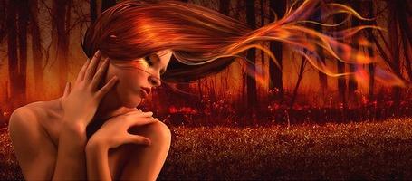 Фото Девушка с огненными волосами (© Флориссия), добавлено: 01.06.2011 19:20