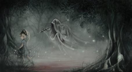 Фото Смерть идёт за девочкой