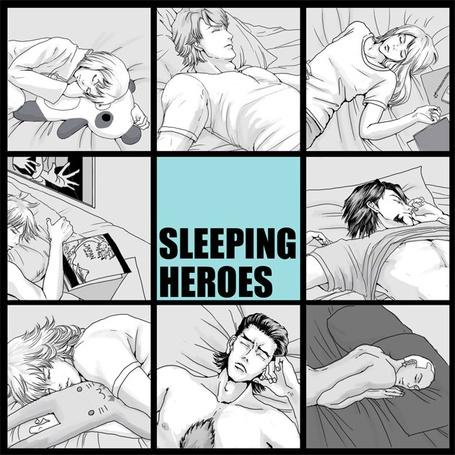 Фото Спящие парни (Sleeping heroes) (© Шепот_дождя), добавлено: 06.06.2011 22:02