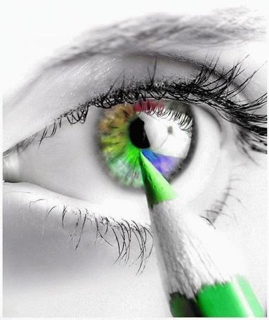 Фото Разноцветный глаз