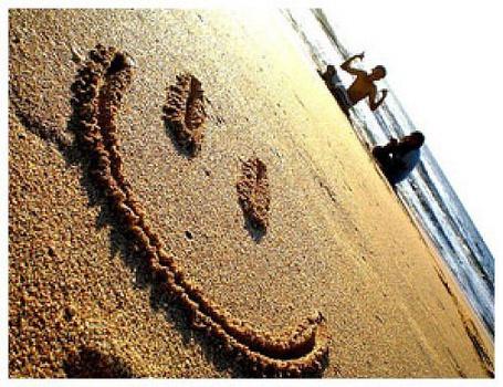 Фото :) на песке (© Юки-тян), добавлено: 12.06.2011 12:54