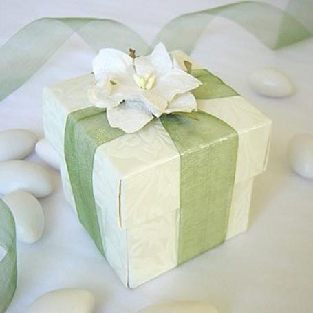 Фото Подарок с цветком (© Юки-тян), добавлено: 13.06.2011 10:10