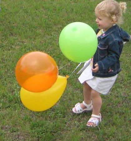Фото Девочка с шариками (© Юки-тян), добавлено: 16.06.2011 22:13