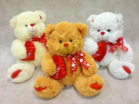 Фото Три медведя с сердечками (© Юки-тян), добавлено: 17.06.2011 22:38