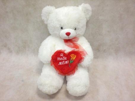 Фото Мишка с сердечком (Я тебя люблю) (© Юки-тян), добавлено: 18.06.2011 10:42