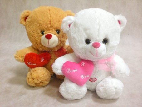 Фото Мишки с сердечками (I love you) (© Юки-тян), добавлено: 18.06.2011 16:55