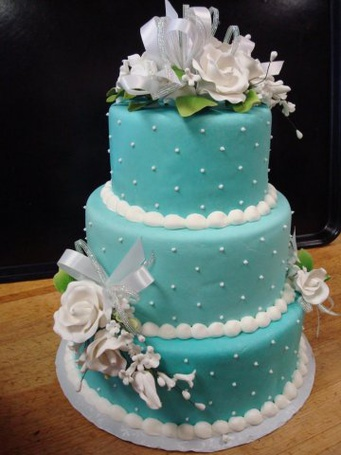 Фото Свадебный торт (© Юки-тян), добавлено: 19.06.2011 13:54
