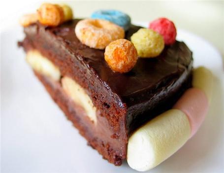 Фото Шоколадный торт (© Мисс Аленка), добавлено: 19.06.2011 14:33