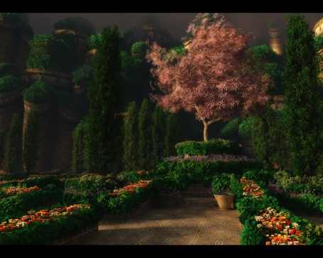 Фото Сад под грозовым небом (© Флориссия), добавлено: 19.06.2011 17:24