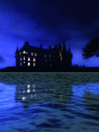 Фото Озеро у готичного дома (© Флориссия), добавлено: 20.06.2011 20:26