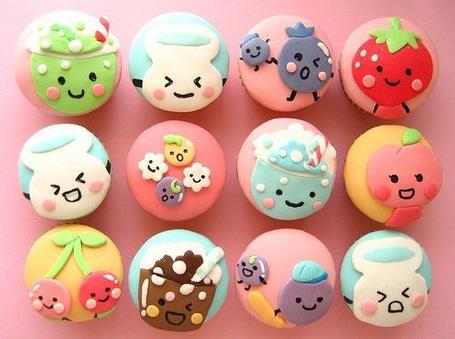 Фото Прикольные пироженки (© Юки-тян), добавлено: 24.06.2011 09:57
