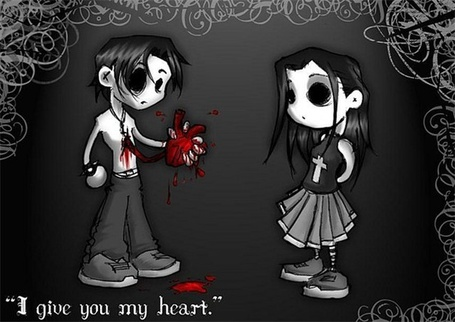 ���� I give you my heart