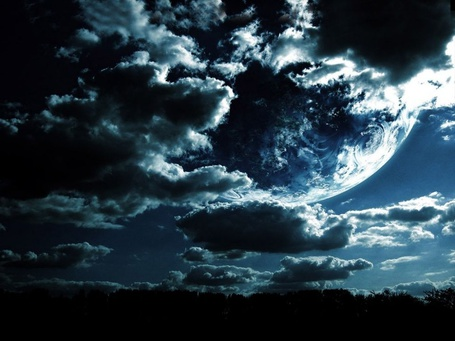Фото Облака вечером (© Флориссия), добавлено: 30.06.2011 15:57