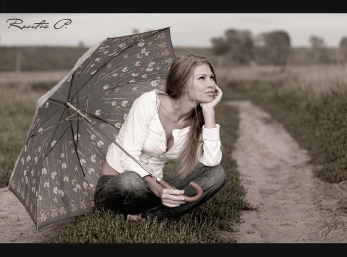 Фото с зонтом идеи
